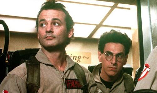 Bill Murray and Harold Ramis bustin' ghosts in the 1984 comedy (Image by Columbia Pictures)