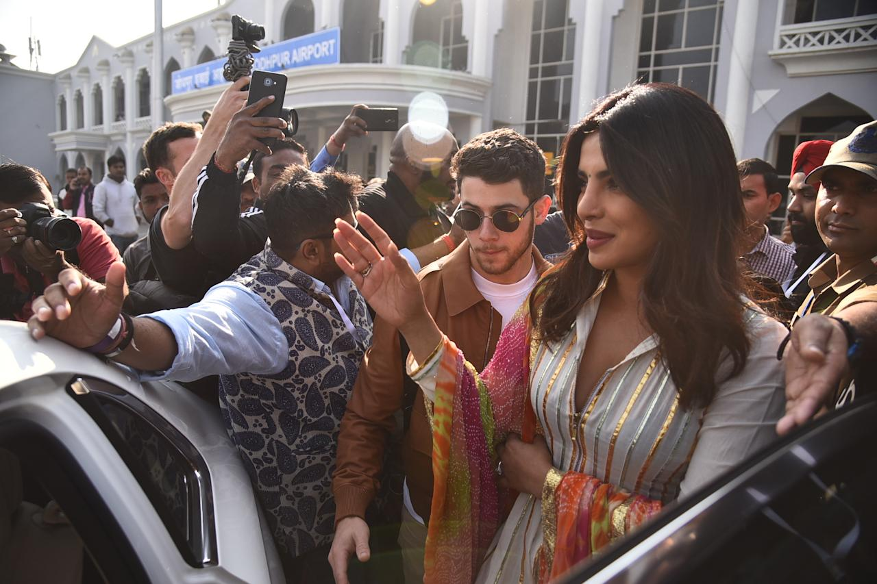 <p>Priyanka and Nick's wedding celebrations begin </p>