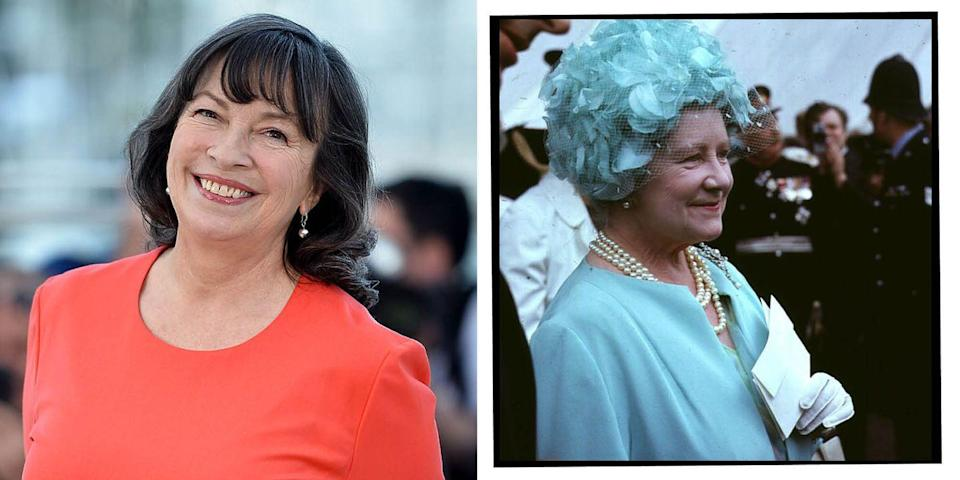 <p><strong>Who plays the Queen Mother in</strong><strong> The Crown seasons 3 and 4</strong>?</p><p><strong>Marion Bailey: </strong>Best known for collaborating with her director partner Mike Leigh for films like Vera Drake, Mr Turner and All Or Nothing.<br></p>
