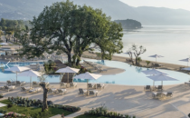 """<p>If you're looking to explore the Mediterranean with the family without taking a cruise, look no further than <a href=""""https://ikosresorts.com/"""" rel=""""nofollow noopener"""" target=""""_blank"""" data-ylk=""""slk:Ikos Resorts"""" class=""""link rapid-noclick-resp"""">Ikos Resorts</a>. Their five properties are reimagining the world of all-inclusive beach holidays across Spain and The Greek Islands with plenty of fun for the entire family. </p><p><a href=""""https://ikosresorts.com/resorts/ikos-dassia/"""" rel=""""nofollow noopener"""" target=""""_blank"""" data-ylk=""""slk:Ikos Dassia"""" class=""""link rapid-noclick-resp"""">Ikos Dassia</a> is especially known for its all-ages amenities but all Ikos resorts offer kids' and teenagers' clubs, beachside child care services, and special kids' and infant paddling pools (which also means there is an adults-only pool for those ages 16 and up). Ikos Dassia features 411 rooms, suites, and villas that house one, two, and three bedrooms for families of all sizes and needs. </p>"""