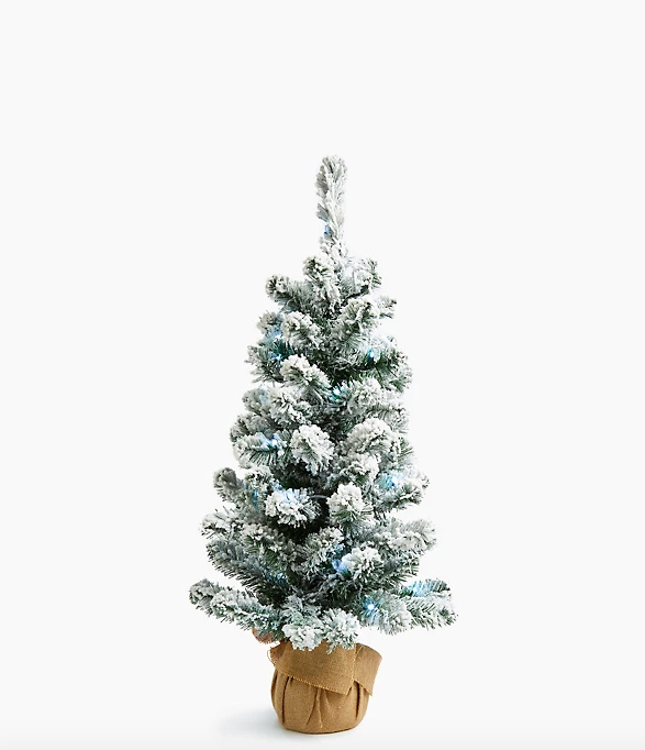 3ft Lit Snowy Christmas Tree. (Marks & Spencer)