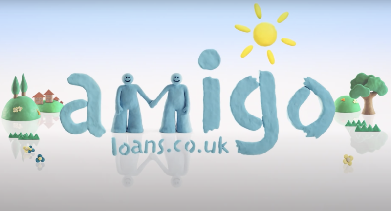 A screenshot from Amigo Loans' 2012 TV advertising campaign. Photo: Amigo Loans/YouTube/Screenshot