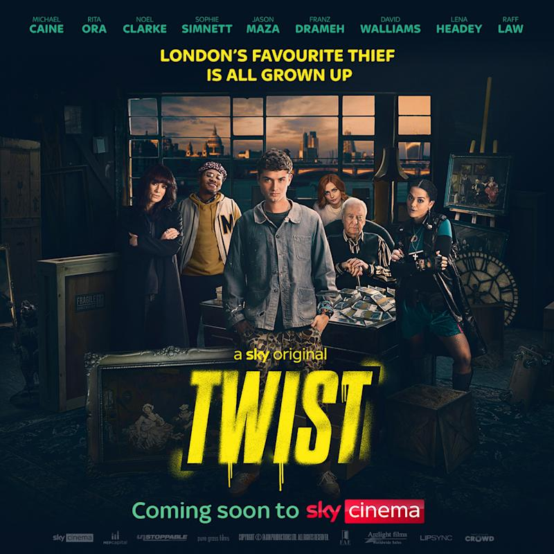 The first poster for Twist. (Sky Cinema)