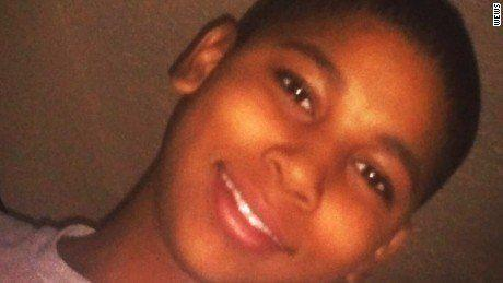 """Tamir Rice, 12, was <a href=""""http://www.thedailybeast.com/articles/2015/12/28/tamir-rice-shooting-was-a-tragedy-not-a-crime.html"""" target=""""_blank"""">playing with a toy gun</a> at a park in Cleveland when he was killed in November 2014. Two officers responded to a call that a man had a pistol, though the 911 dispatcher didn't relay that the caller said the gun was """"probably fake."""" Before the car came to a complete halt, Officer Timothy Loehmann jumped out of the car and shot the child in his torso. He later stated that it looked like Rice was reaching towards a gun in his waistband. <a href=""""http://www.cnn.com/2015/12/28/us/tamir-rice-shooting/"""" target=""""_blank"""">Loehmann did not face charges</a>."""