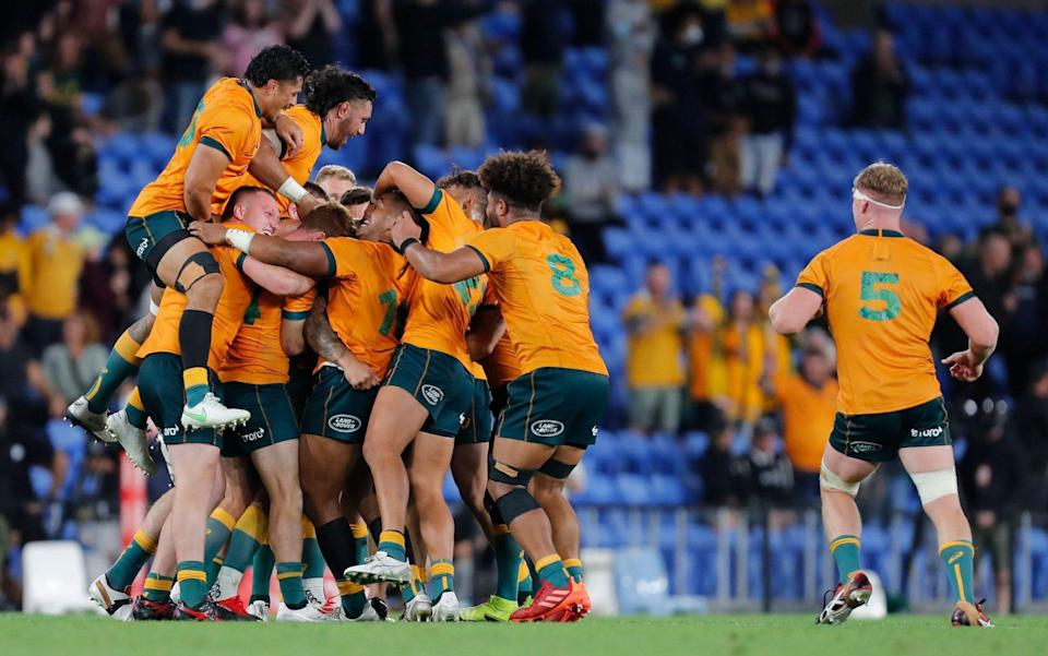Quade Cooper leads Australia to famous win over South Africa on return to Test rugby - SHUTTERSTOCK
