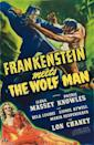 """<p><a class=""""link rapid-noclick-resp"""" href=""""https://www.amazon.com/Frankenstein-Meets-Wolf-Bela-Lugosi/dp/B004714WO8/?tag=syn-yahoo-20&ascsubtag=%5Bartid%7C10055.g.21987512%5Bsrc%7Cyahoo-us"""" rel=""""nofollow noopener"""" target=""""_blank"""" data-ylk=""""slk:WATCH NOW"""">WATCH NOW</a></p><p>This classic film is a sequel to <em>The Ghost of Frankenstein </em>and <em>The Wolf Man</em> — which means it's a must-watch for any horror movie buff. It doesn't get any more Halloween than watching these two characters face off. </p>"""