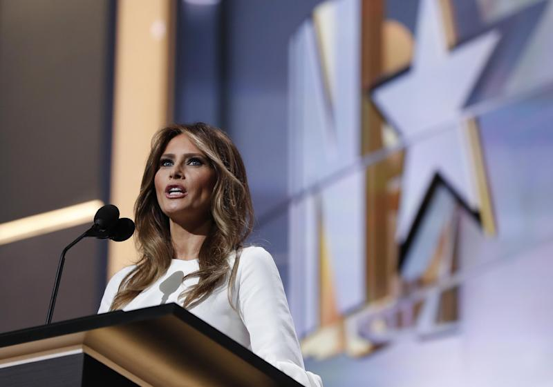 Melania Trump says she never broke any US immigration laws