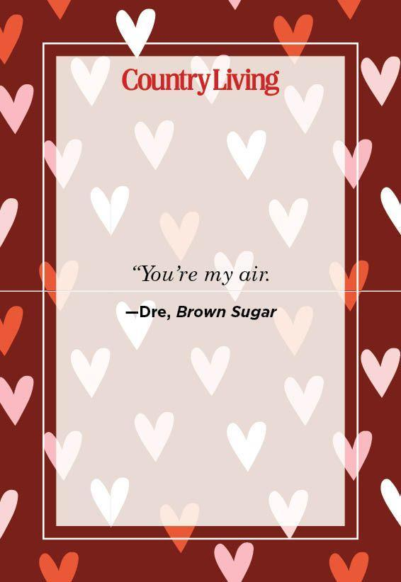 """<p>""""You're my air.""""</p>"""