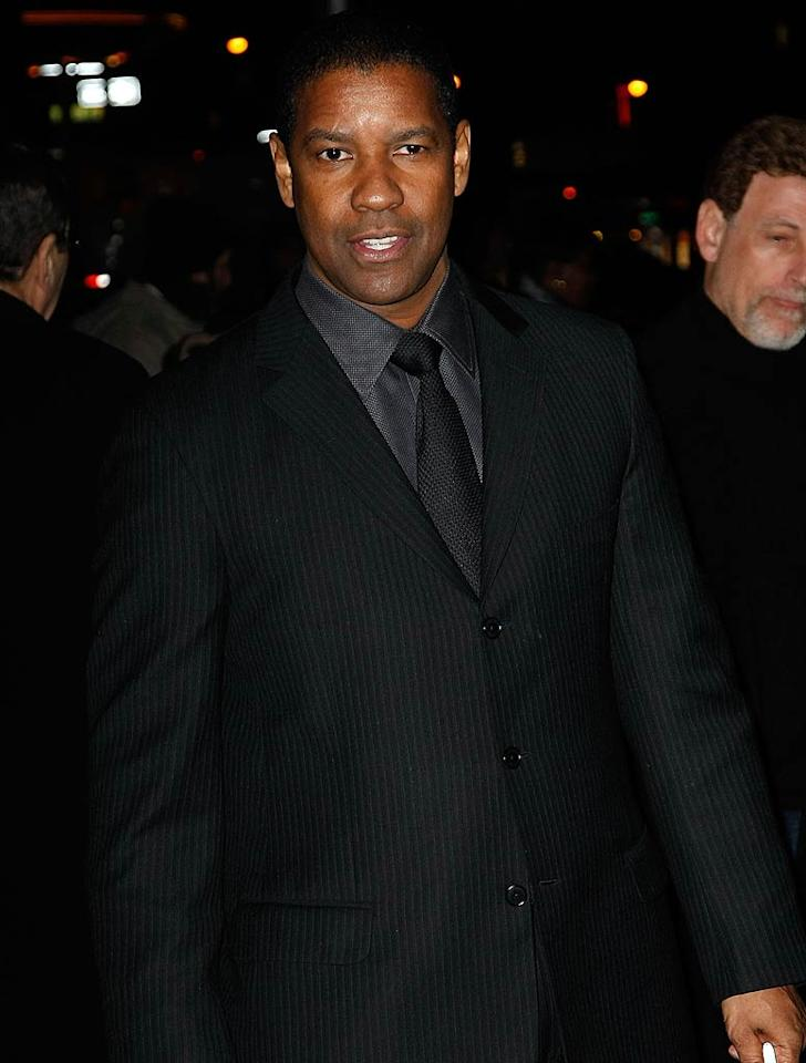 "December 28: Denzel Washington turns 56 Jeffrey Ufberg/<a href=""http://www.wireimage.com"" target=""new"">WireImage.com</a> - January 14, 2010"