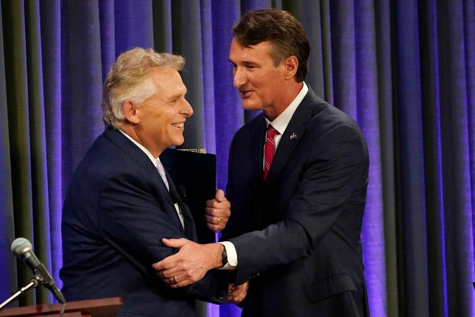 Virginia Governor Debate (Copyright 2021 The Associated Press. All rights reserved)