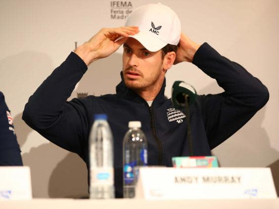 Murray leads Great Britain in Madrid this week (Getty Images for LTA)