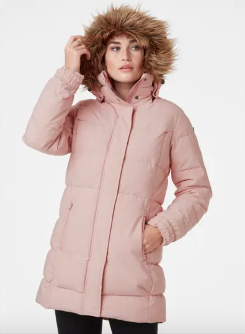 Blume Puffy Parka by Helly Hansen.