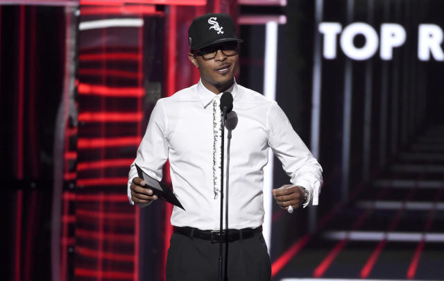 T.I. will not be supporting the NFL this season. (Photo by Chris Pizzello/Invision/AP)