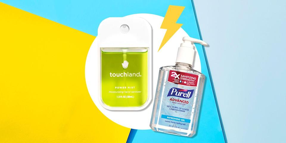 """<p>While washing your hands with soap and water should be your go-to, <a href=""""https://www.womenshealthmag.com/health/a31227921/does-hand-sanitizer-expire/"""" rel=""""nofollow noopener"""" target=""""_blank"""" data-ylk=""""slk:hand sanitizer"""" class=""""link rapid-noclick-resp"""">hand sanitizer</a> does work in a pinch. Let's face it, sometimes you don't have soap or a dependable sink sitch—and that's where hand sanitizer sparkles. In those circumstances, <a href=""""https://www.womenshealthmag.com/health/a31248244/does-hand-sanitizer-work/"""" rel=""""nofollow noopener"""" target=""""_blank"""" data-ylk=""""slk:hand sanitizers are a pretty solid backup plan"""" class=""""link rapid-noclick-resp"""">hand sanitizers are a pretty solid backup plan</a>, according to doctors and the U.S. Food and Drug Administration (FDA).</p><p>""""Hand sanitizer is a good way to disinfect when you don't have access to soap and water between hand washes,"""" confirms Dr. Andrew Alexis, MD, chair of Mount Sinai's department of dermatology. Still, you've got to use the stuff correctly, check the expiration date, and make sure it contains the right ingredients. """"Alcohol-based sanitizers with 60 percent alcohol or higher are best at killing many types of germs,"""" says Alexis. If your bottle contains any less than that, it may reduce growth of germs but not kill them. The CDC confirms a high alcohol content (also at least 60 percent) is required to kill germs. </p><p>When you're buying a hand sanitizer, the first thing to look for is one of these three active ingredients on the label: ethyl alcohol, isopropyl alcohol, or benzalkonium chloride. """"Other active ingredients may be ineffective,"""" says Alexis. Those ingredients all indicate that the formula contains alcohol, and as long as it hits that 60 percent mark, you're covered. </p><p>Steer clear of hand sanitizers containing other potentially dangerous types of alcohol. The U.S. Food and Drug Administration (FDA) shared a new warning against using <a href=""""https://www.womenshealthmag.com/health/a32"""
