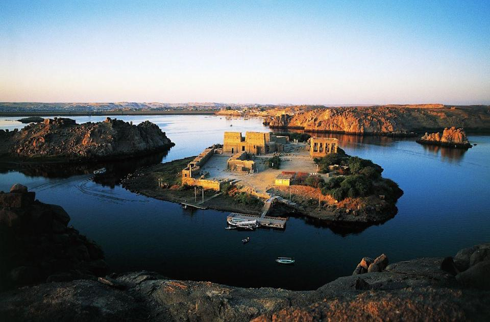<p>The Great Temple of Isis at Philae, located in Aswan, Egypt // February 14, 2016</p>