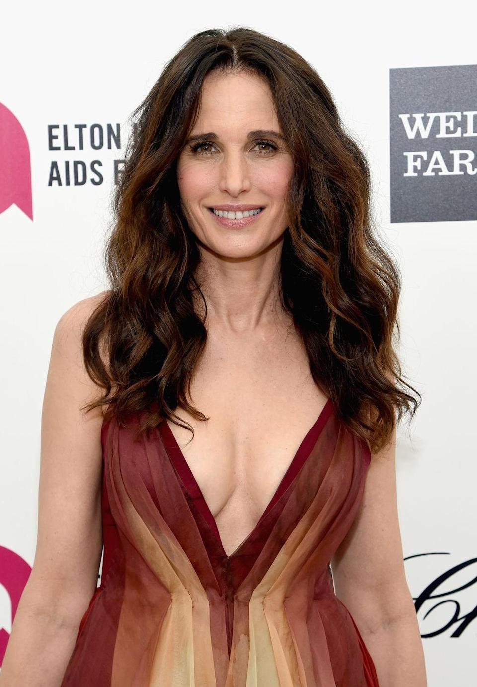 """<p>Actress Andie MacDowell worked for the fast-food chain, and she brought her signature sunny personality to work every day. Speaking to Cody Teets, author of <a href=""""https://www.amazon.com/Golden-Opportunity-Remarkable-Careers-McDonalds/dp/1604332794?tag=syn-yahoo-20&ascsubtag=%5Bartid%7C10063.g.36700579%5Bsrc%7Cyahoo-us"""" rel=""""nofollow noopener"""" target=""""_blank"""" data-ylk=""""slk:Golden Opportunity: Remarkable Careers That Began at McDonald's"""" class=""""link rapid-noclick-resp""""><em>Golden Opportunity: Remarkable Careers That Began at McDonald's</em></a>, she referred to McDonald's as being """"a great environment to work in, with lots of camaraderie and teamwork.""""</p>"""