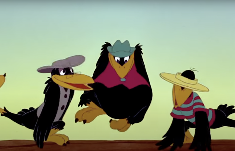 Dumbo's singing cartoon crows have garnered a reputation for leaning into Black stereotypesDisney Studios
