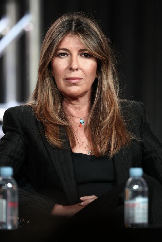 Nina Garcia speaks at a 'Project Runway' panel in 29 January 2019 (Getty Images)