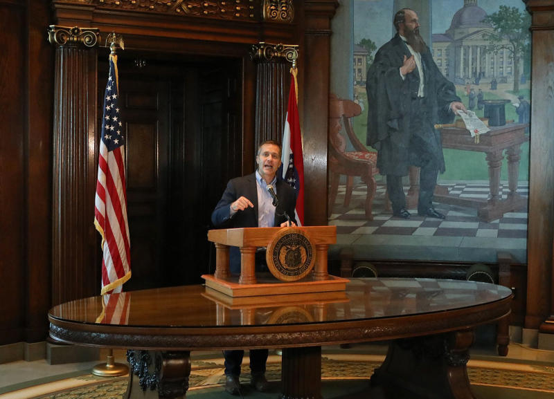 Republican legislative leaders call for Gov. Greitens to resign