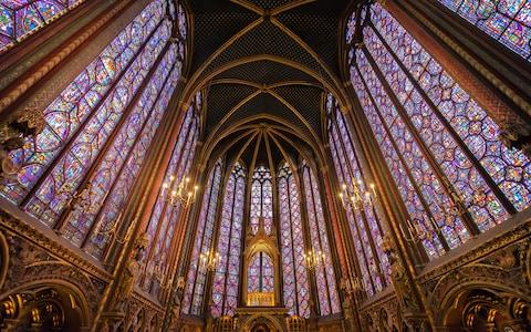 Sainte-Chapelle - Credit: AP