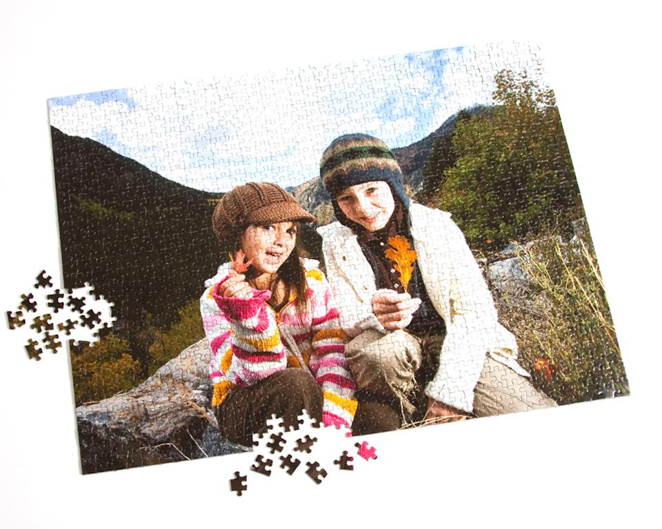 Custom Photo Puzzle. Image via Portrait Puzzles.