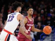 Reports: USC basketball picks up commitment from grad transfer G Tahj Eaddy