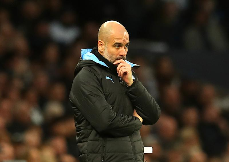 Pep Guardiola has never managed a club longer than four seasons. Why would he stay with Manchester City now? (Photo by Catherine Ivill/Getty Images)