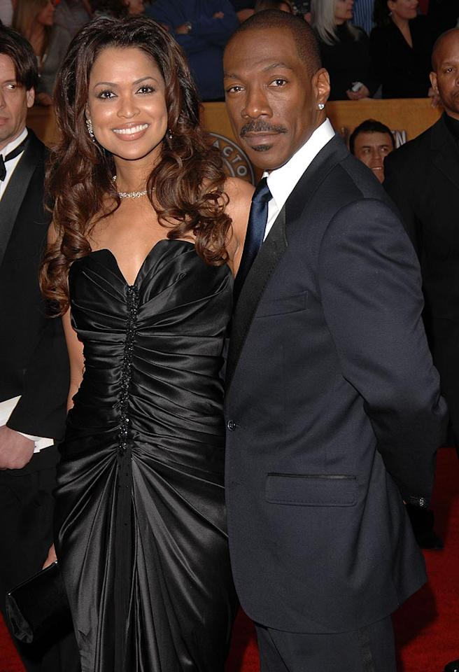 "Speaking of eyebrow raising couples, OK! Magazine announced that Tracey Edmonds and Eddie Murphy are engaged. Fernando Ellende/<a href=""http://www.splashnewsonline.com"" target=""new"">Splash News</a> - January 28, 2007"