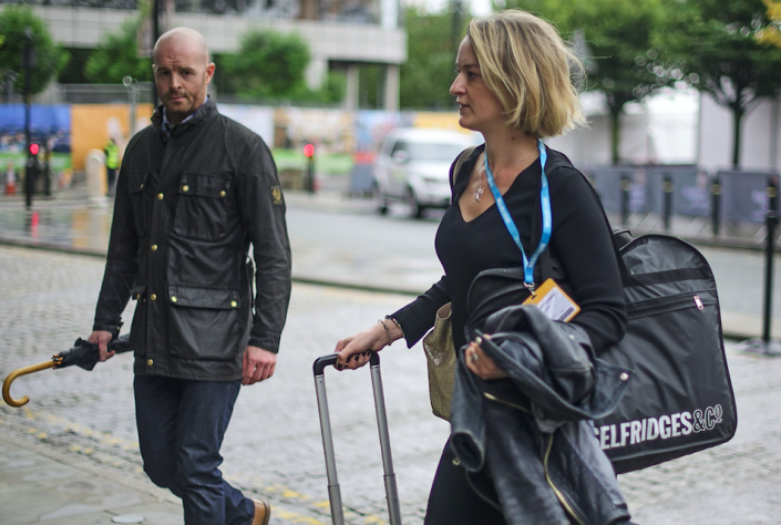 <em>Ms Kuenssberg was given a bodyguard at Labour and Tory conferences after she received a barrage of abuse (Rex)</em>