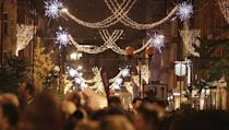 """<p>Dame Barbara Windsor will be switching on <a href=""""http://www.marylebonevillage.com/marylebone-journal/dame-barbara"""" rel=""""nofollow noopener"""" target=""""_blank"""" data-ylk=""""slk:Marylebone High Street's lights"""" class=""""link rapid-noclick-resp"""">Marylebone High Street's lights</a> on November 15 at 6pm. There will also be live performances from local children and professionals as well as Santa's Grotto, food stalls and fairground rides. </p>"""