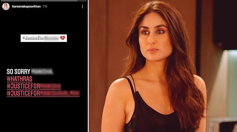 Hathras Rape Case: Kareena Kapoor Khan Says 'So Sorry' And Demands Justice For The Victim