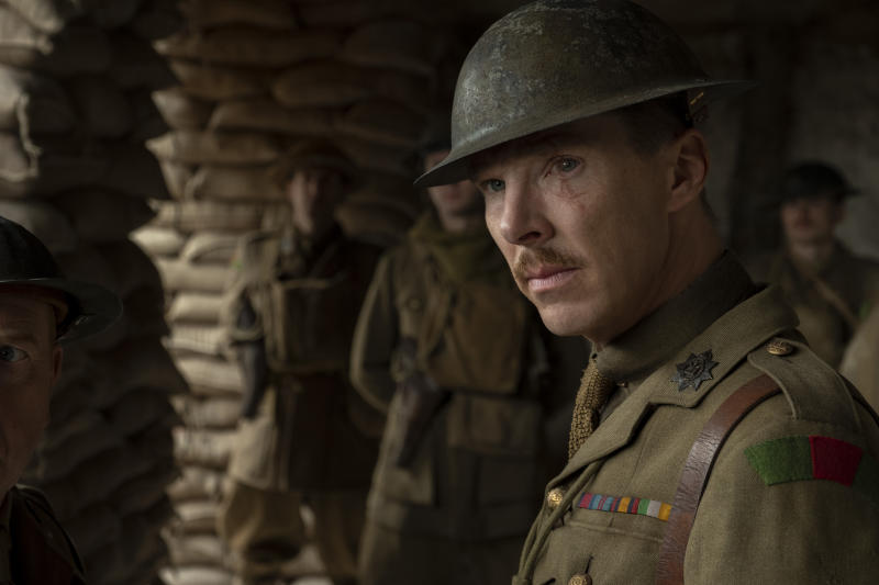 Benedict Cumberbatch as Colonel Mackenzie in '1917' (Photo: Francois Duhamel / Universal Pictures and DreamWorks Pictures)