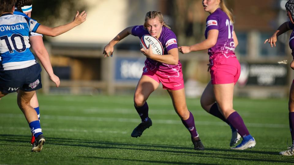 Loughborough move to second in the table following their big win over Quins  Photo Credit: Loughborough Lightning