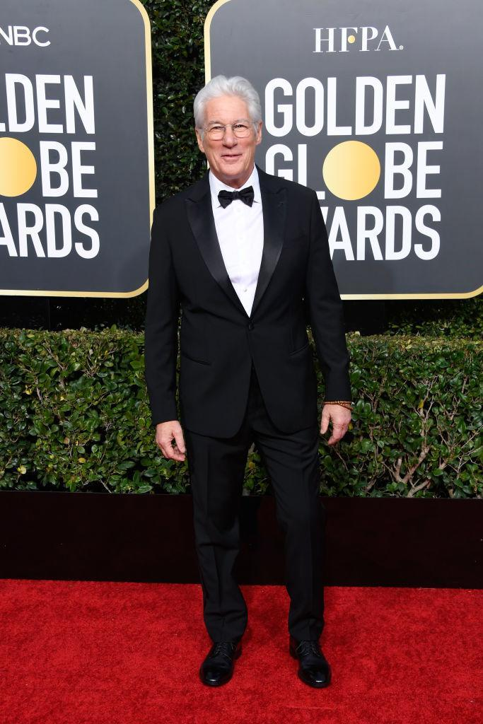<p>Richard Gere attends the 76th Annual Golden Globe Awards at the Beverly Hilton Hotel in Beverly Hills, Calif., on Jan. 6, 2019. (Photo: Getty Images) </p>