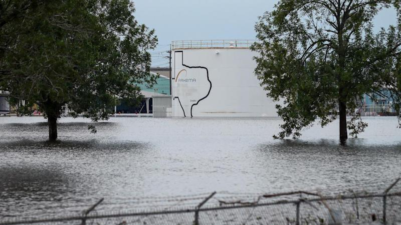 Officials in flooded Houston are concerned that the Arkema chemical plant might explode.