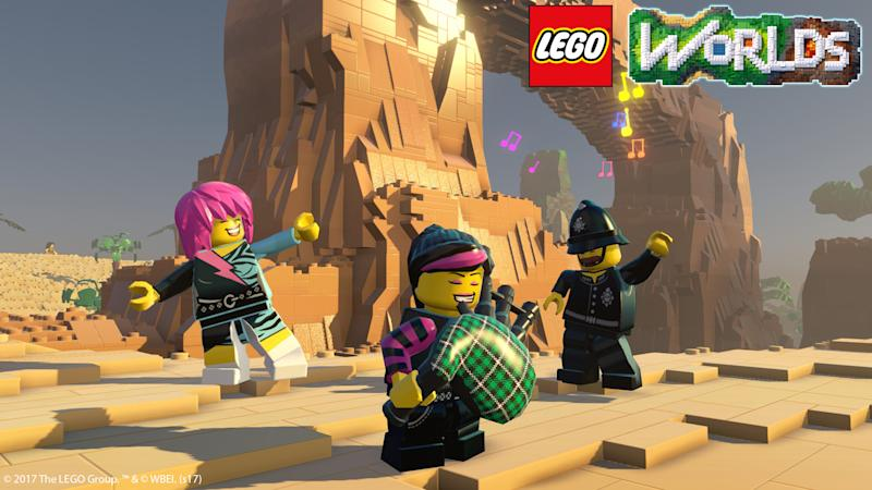 LEGO Worlds releases on consoles this February