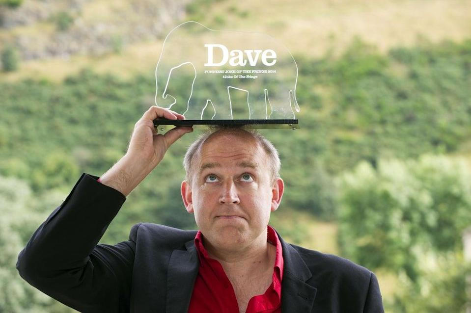 Tim Vine is among the comedians featured in the video (Lesley Martin/Dave/PA) (PA Media)