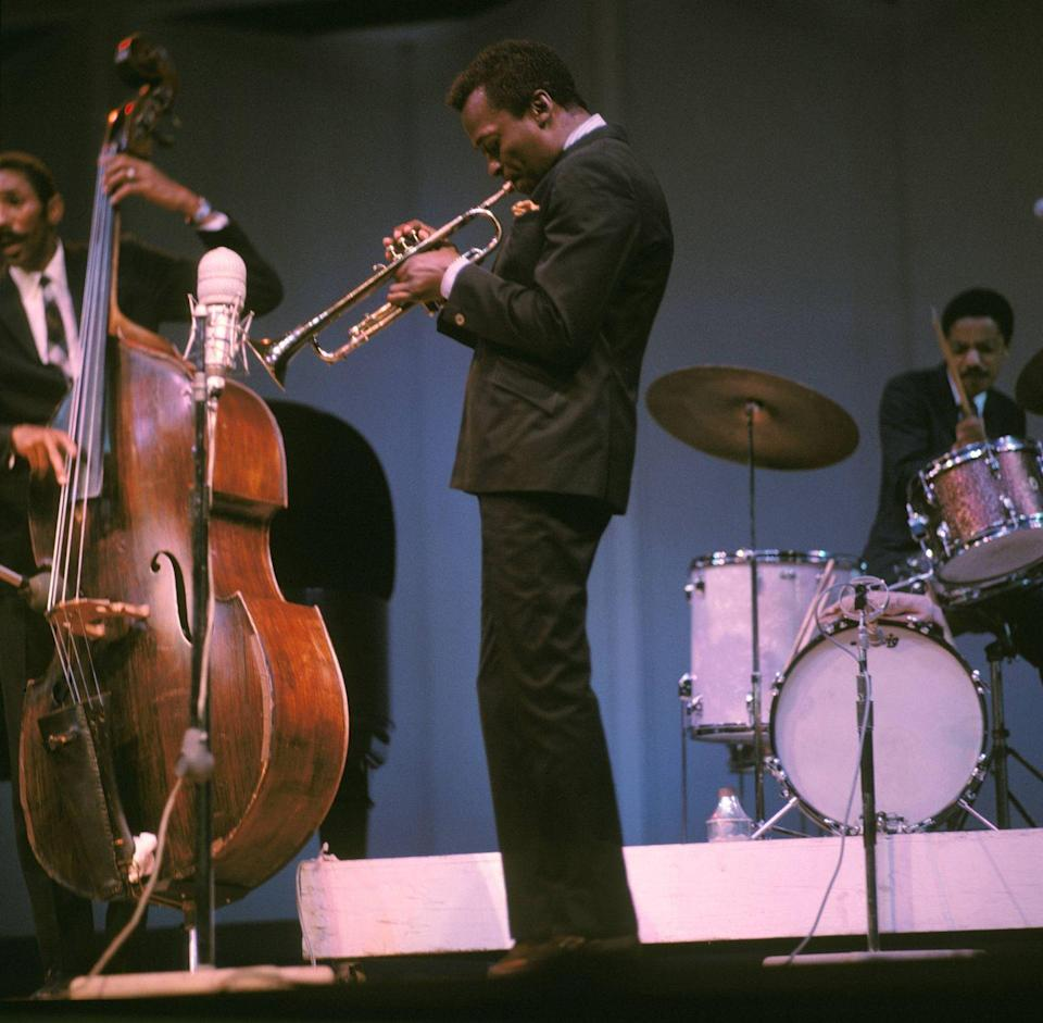<p>Five months before turning 40, Davis was hospitalized for a liver infection. His record sales were also declining. Soon, however, he would form a new band and record, Miles Smiles, which came out in 1967 to critical acclaim, pointing a new way forward for Davis. </p>