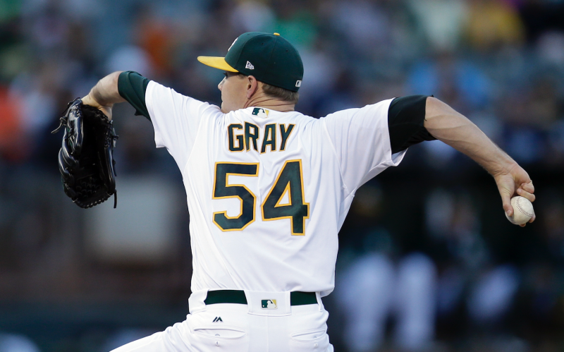 Sonny Gray grabbed a win, and an inverted W, in Wednesday's start