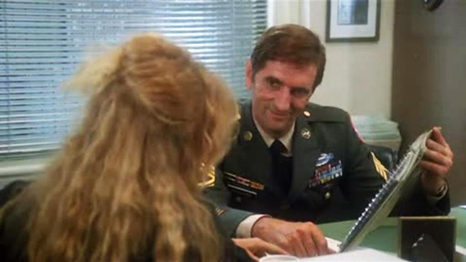 <p>Stanton memorably plays the Army recruiter who encourages Goldie Hawn's wayward title character to sign up for the military by promising her it will be like a spa vacation.<br><br>(Photo: Warner Bros.) </p>