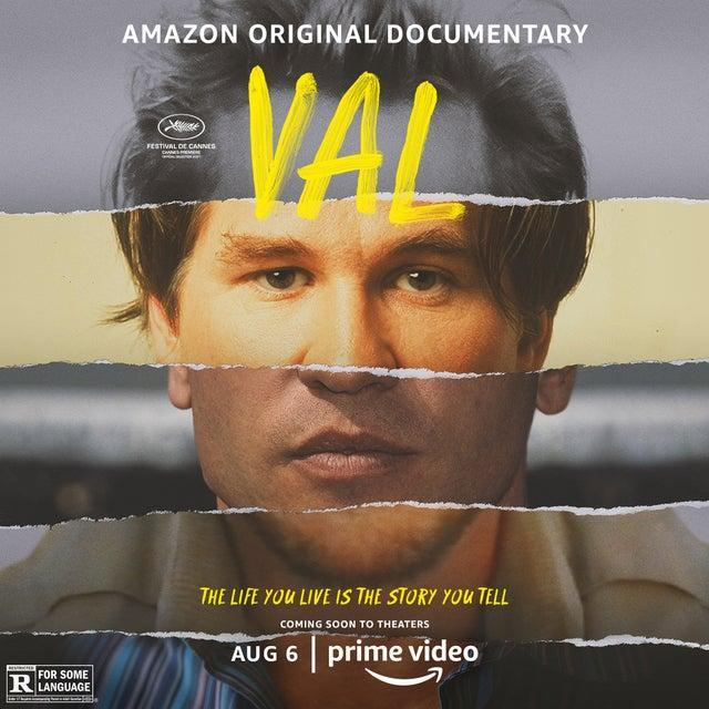 Poster for the documentary film Val.