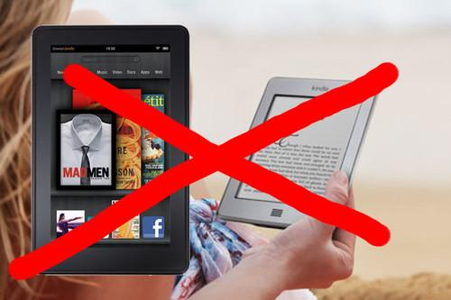 No Amazon Kindle Fire or Kindle Touch for UK