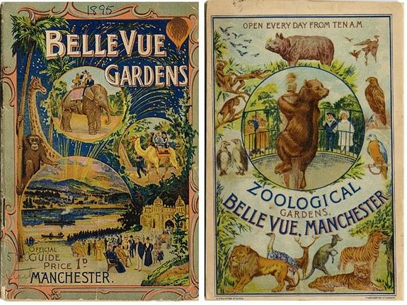 Vintage Zoo Pamphlets Feature Odd Exhibits & Extinct Animals