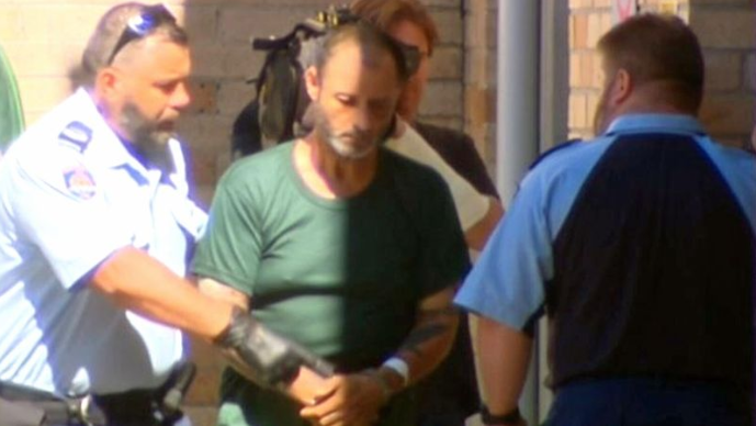 Anthony Sampieri has been jailed for life over the 2018 assault. Source: Nine News