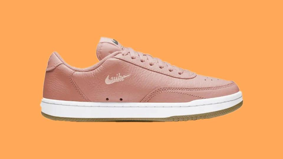 Shoppers praised the cute look of this Nike Court sneaker and it can be yours for less than $50.