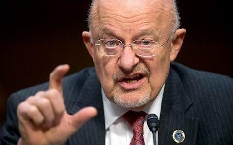 Mr Clapper believes Trump is 'looking for a way out'