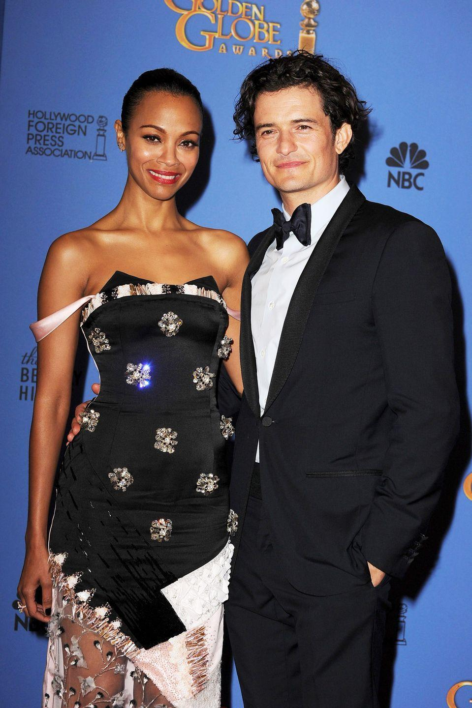 "<p>When asked what he thought about his co-star in the 2004 thriller <em>Haven</em> calling their kiss ""gross,"" Orlando Bloom couldn't agree more. </p><p>""I hated kissing Zoe too! I was like, 'Take your tongue out of my mouth, please. Your boyfriend is standing right there,'"" he told <em><a href=""https://people.com/celebrity/orlando-blooms-awkward-love-scene/"" rel=""nofollow noopener"" target=""_blank"" data-ylk=""slk:People"" class=""link rapid-noclick-resp"">People</a></em>. ""Most people think kissing beautiful costars must be great. But it's always awkward, man.""</p>"
