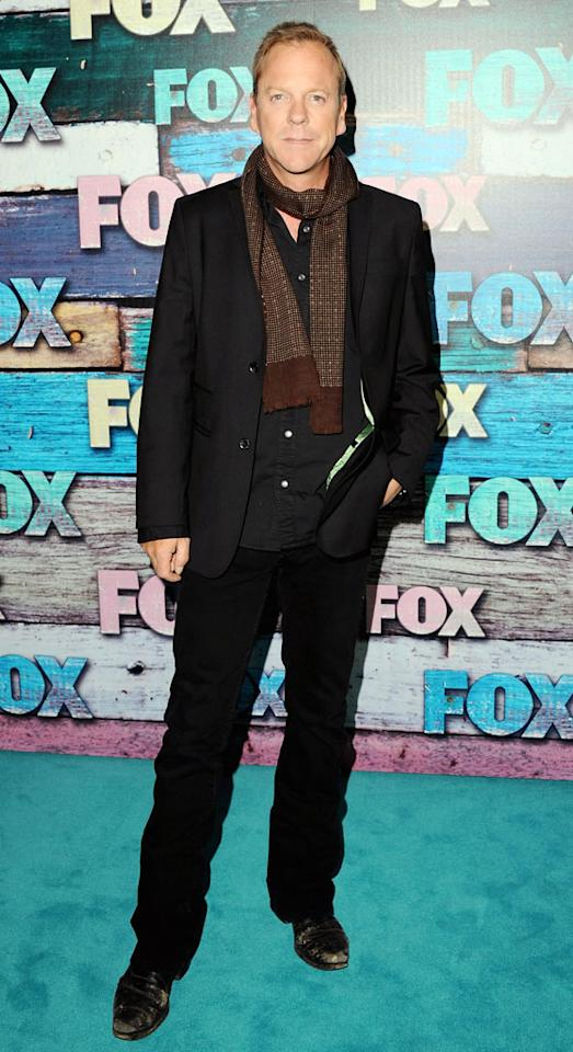 "Kiefer Sutherland (""Touch"") arrives at the Fox Summer 2012 All-Star Party on July 23, 2012 at the Soho House in West Hollywood, California."