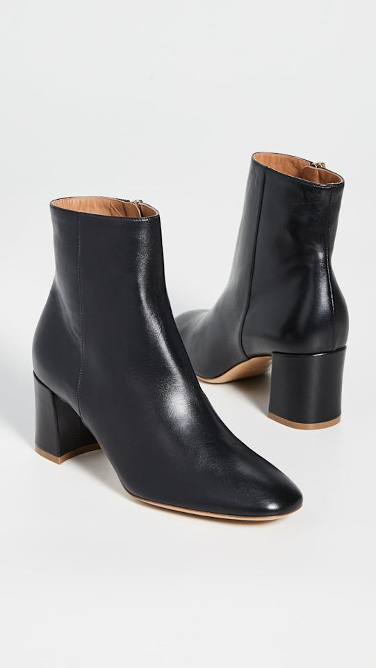 """<p>You can't go wrong with these <a href=""""https://www.popsugar.com/buy/Mansur-Gavriel-65mm-Ankle-Boots-488898?p_name=Mansur%20Gavriel%2065mm%20Ankle%20Boots&retailer=shopbop.com&pid=488898&price=650&evar1=fab%3Auk&evar9=45214624&evar98=https%3A%2F%2Fwww.popsugar.com%2Ffashion%2Fphoto-gallery%2F45214624%2Fimage%2F46602963%2FMansur-Gavriel-65mm-Ankle-Boots&list1=shopping%2Cfall%20fashion%2Cshoes%2Cboots%2Cfall%2Cwinter%2Cwinter%20fashion&prop13=api&pdata=1"""" rel=""""nofollow"""" data-shoppable-link=""""1"""" target=""""_blank"""" class=""""ga-track"""" data-ga-category=""""Related"""" data-ga-label=""""https://www.shopbop.com/65mm-ankle-boot-mansur-gavriel/vp/v=1/1557495750.htm?folderID=13468&amp;fm=other-shopbysize-viewall&amp;os=false&amp;colorId=1071C"""" data-ga-action=""""In-Line Links"""">Mansur Gavriel 65mm Ankle Boots</a> ($650).</p>"""