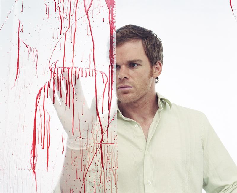 "LOS ANGELES - MAY 16: Michael C. Hall as Dexter Morgan in ""Dexter."" (Photo by Christian Weber/CBS via Getty Images)"